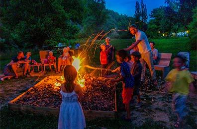 Campsite CosyCamp, Auvergne: glamping, unusual campsite in