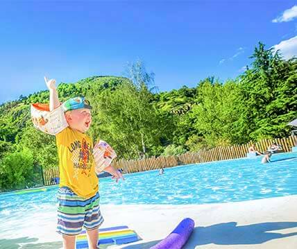 Auvergne kamperen met waterpark