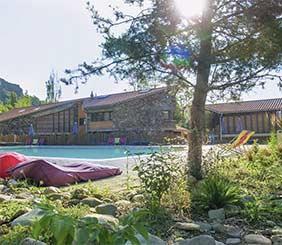campsite with pool Auvergne