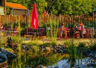 campsite with restaurant in Auvergne