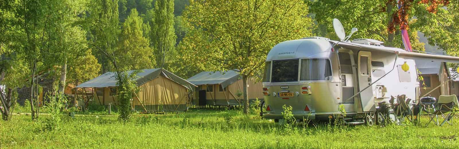 Emplacements pour campeurs en Auvergne