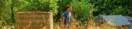 Family Gardening in Auvergne