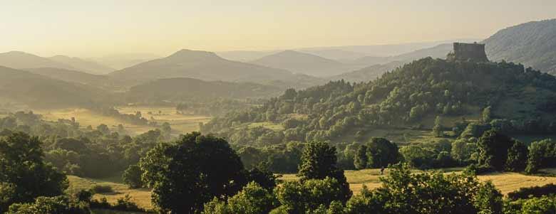 Visiter l'Auvergne
