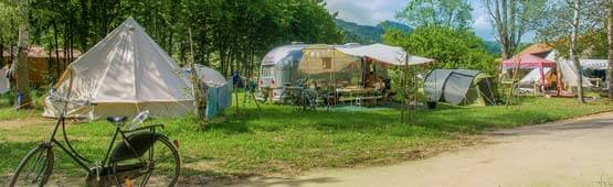 emplacement location camping auvergne