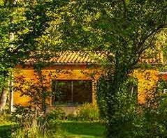 Séminaires dans la salle du jardin en Auvergne