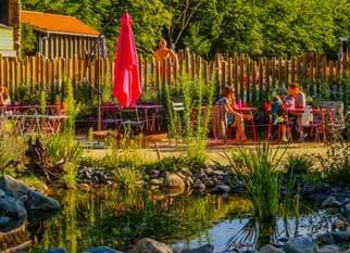 Camping mit Restaurant in der Auvergne