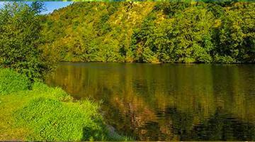Naturcampingplatz in der Auvergne
