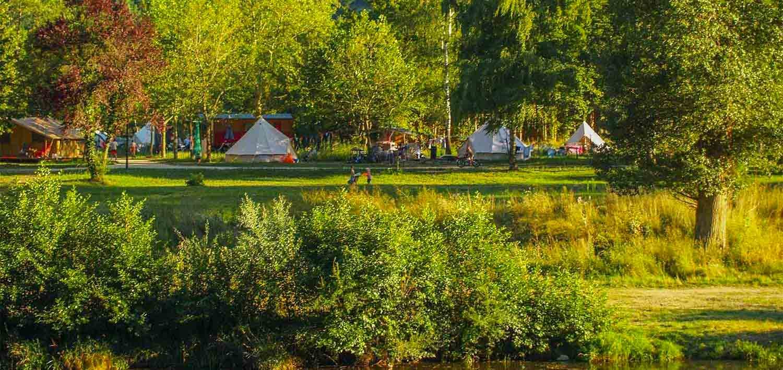 Camping bord de rivière Loier