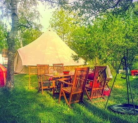 définition glamping