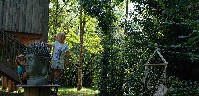 cabane dans les arbres lyon