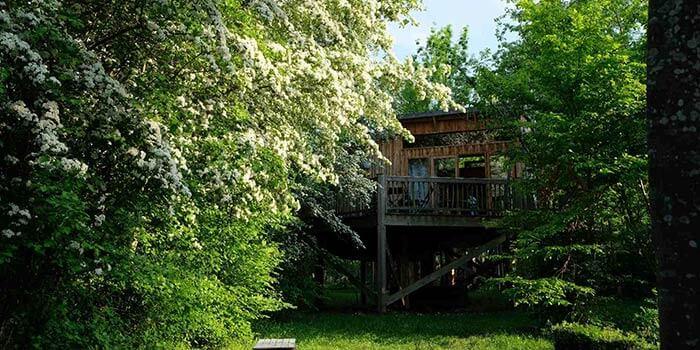 cabane perchée rhone alpes
